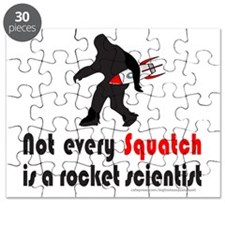 NOT EVERY SQUATCH IS A ROCKET SCIENTIST Puzzle