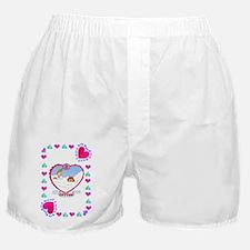 2nd Wedding Anniversary, Cotton Boxer Shorts