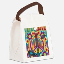Tribute To Woodstock Canvas Lunch Bag