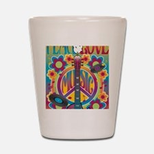 Tribute To Woodstock Shot Glass