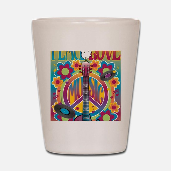 Tribute To Woodstock Shot Glass
