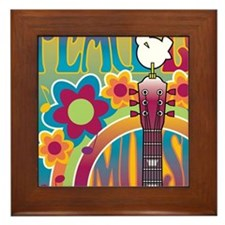 Tribute To Woodstock Framed Tile