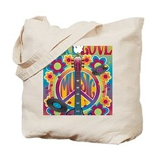 Tribute To Woodstock Tote Bag