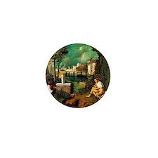 Giorgione The Tempest Mini Button