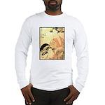 Japanese print Long Sleeve T-Shirt