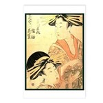 Japanese print Postcards (Package of 8)