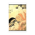 Japanese print Rectangle Sticker