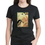 Japanese print Women's Dark T-Shirt