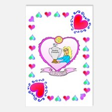 25th wedding anniversary, Postcards (Package of 8)