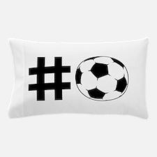Hashtag Soccer Pillow Case