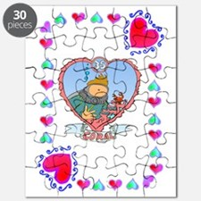 35th Wedding Anniversary, Coral Puzzle