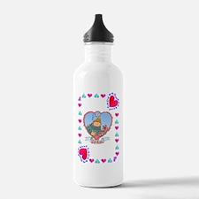 35th Wedding Anniversa Water Bottle