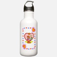 40th wedding anniversa Water Bottle
