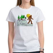 Distressed Original Gone Squatchin Tee