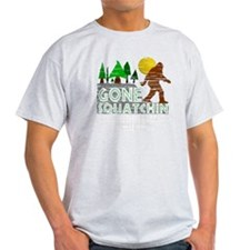 Distressed Original Gone Squatchin D T-Shirt
