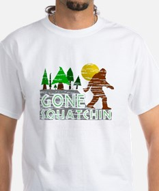 Distressed Original Gone Squatchi Shirt