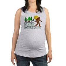 Distressed Original Gone Squatc Maternity Tank Top
