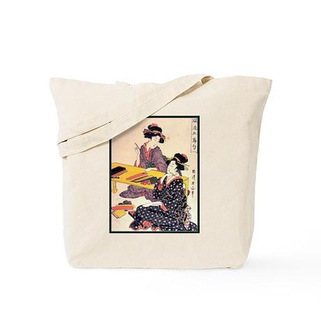 Japanese Art Tote Bag