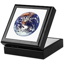 earth122013darkT Keepsake Box
