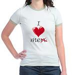 I Love Me (Men) Jr. Ringer T-Shirt