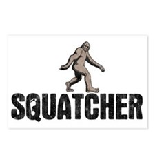squatcher-HAT Postcards (Package of 8)