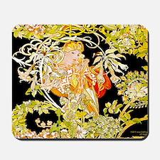 Laptop Mucha Color Marguerite Mousepad