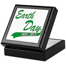 earth62013Wdark Keepsake Box