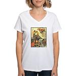 Japanese Art  Women's V-Neck T-Shirt