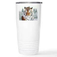 Snow Tiger Travel Mug