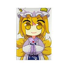 Chibi Ran Rectangle Magnet