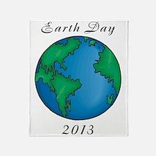 earth272013lightT Throw Blanket