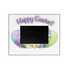 Happy Easter Chick (txt) Picture Frame