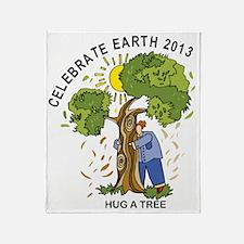 earth242013Tlight Throw Blanket