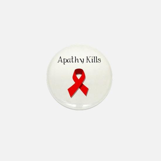 Cute Cure aids Mini Button