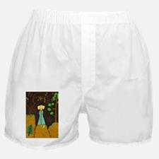 Golden Fur Boxer Shorts