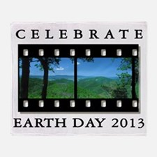 earth292013lightW Throw Blanket