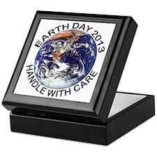 earth122013lightT Keepsake Box