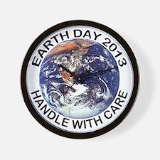 earth122013lightT Wall Clock