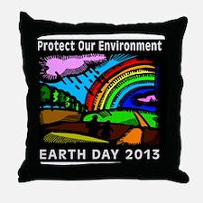 earth372013lightW Throw Pillow
