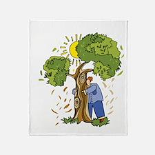 earth242013Tdark Throw Blanket