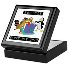 earth382013lightW Keepsake Box