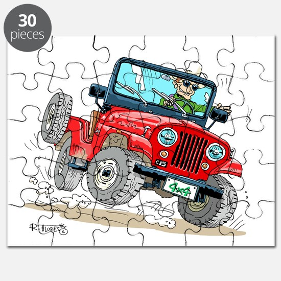 Willys-Kaiser CJ5 jeep Puzzle