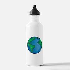 earth272013coloredT Water Bottle