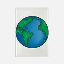 earth272013coloredT Rectangle Magnet