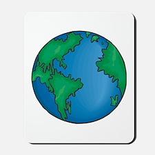earth272013coloredT Mousepad