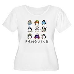 9 Penguins T-Shirt