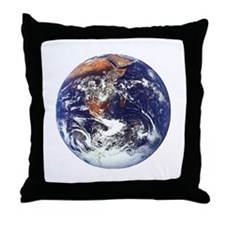 earth322013coloredT Throw Pillow