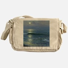 mr_shower_curtain Messenger Bag