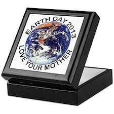 earth322013lightT Keepsake Box