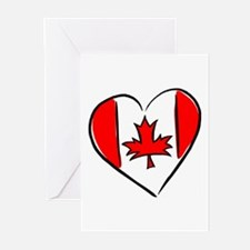 I Love Canada Greeting Cards (Pk of 10)
